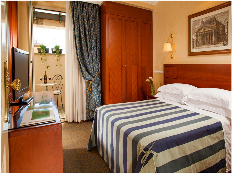 Hotel Ludovisi Palace, Rome, Italie, chambre