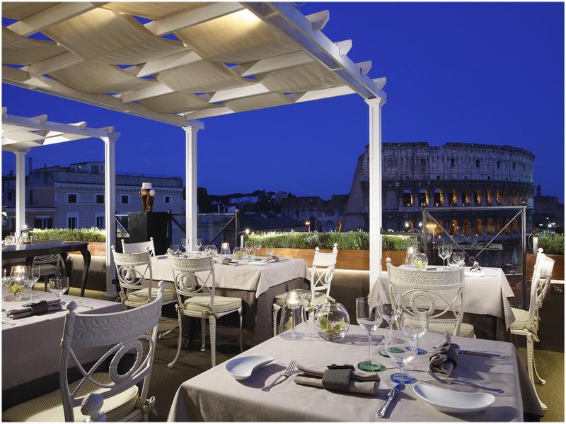 Hotel Manfredi, Rome, Italie, Restaurant