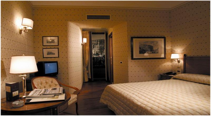 Hotel Piranesi, Rome, Italie, Chambre