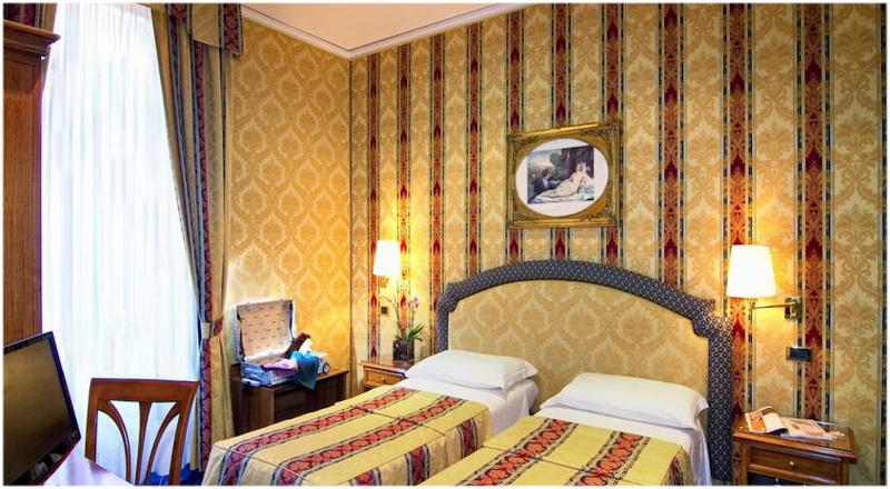 Hotel Raffaello, Rome, Italie, Chambre