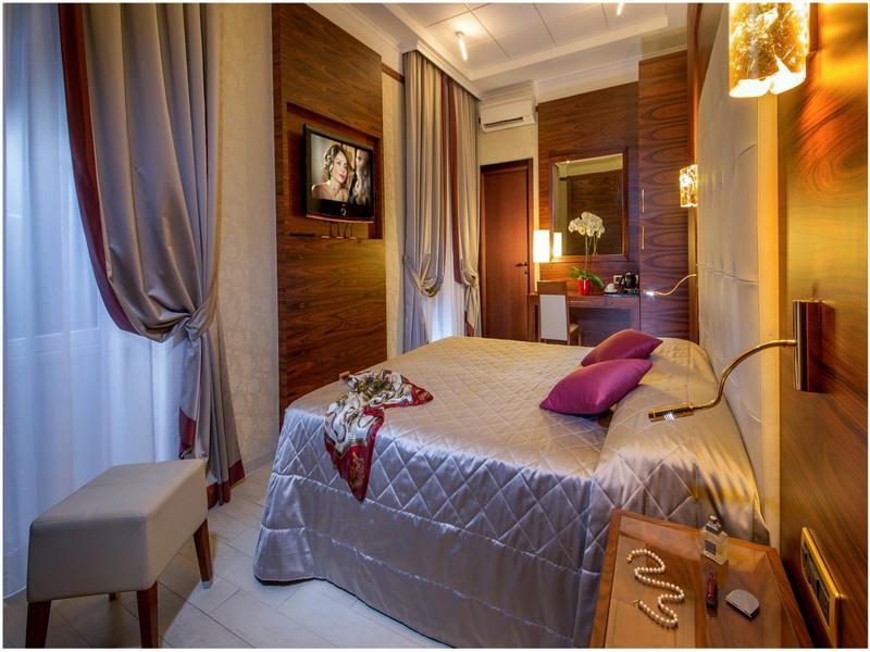 Hotel Ranieri, Rome, Italie, Chambre