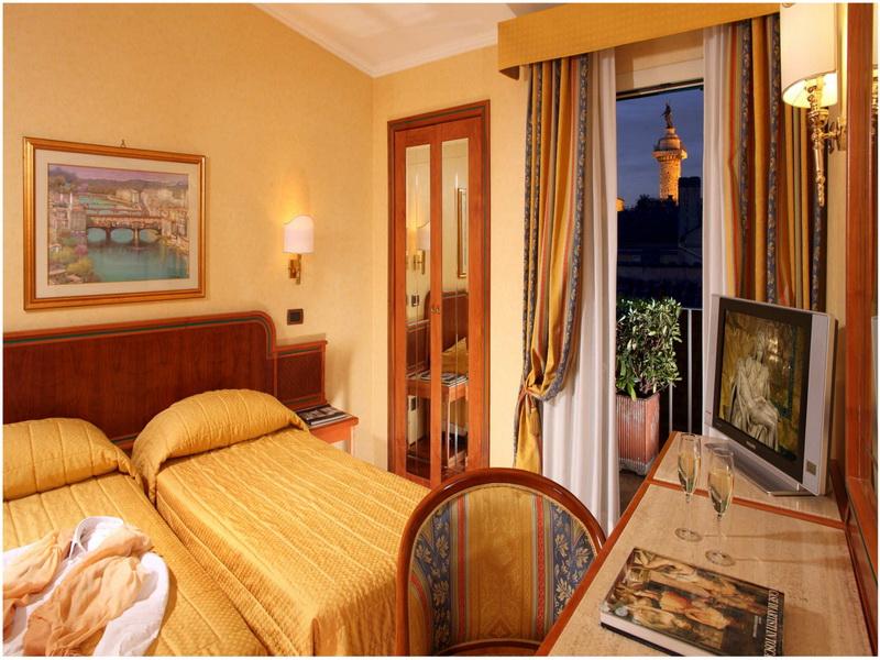 Hotel Regno, Rome, Italie, Chambre