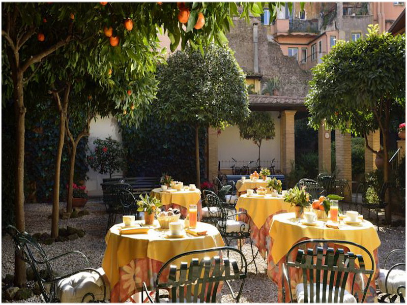 Hotel Santa Maria, Rome, Italie, terrasse