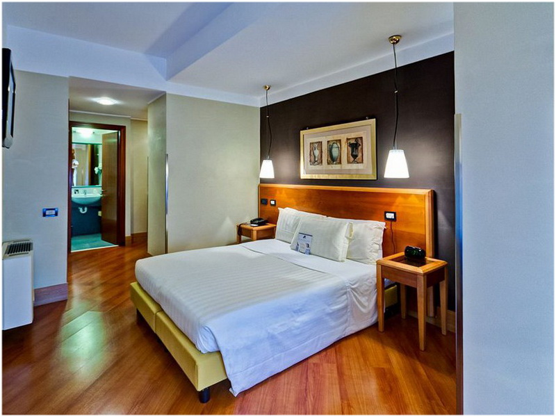 Hotel Spring House, Rome, Italie, Chambre
