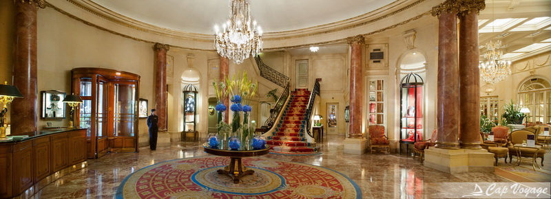 Hotel de luxe Ritz Paris, voyage en France