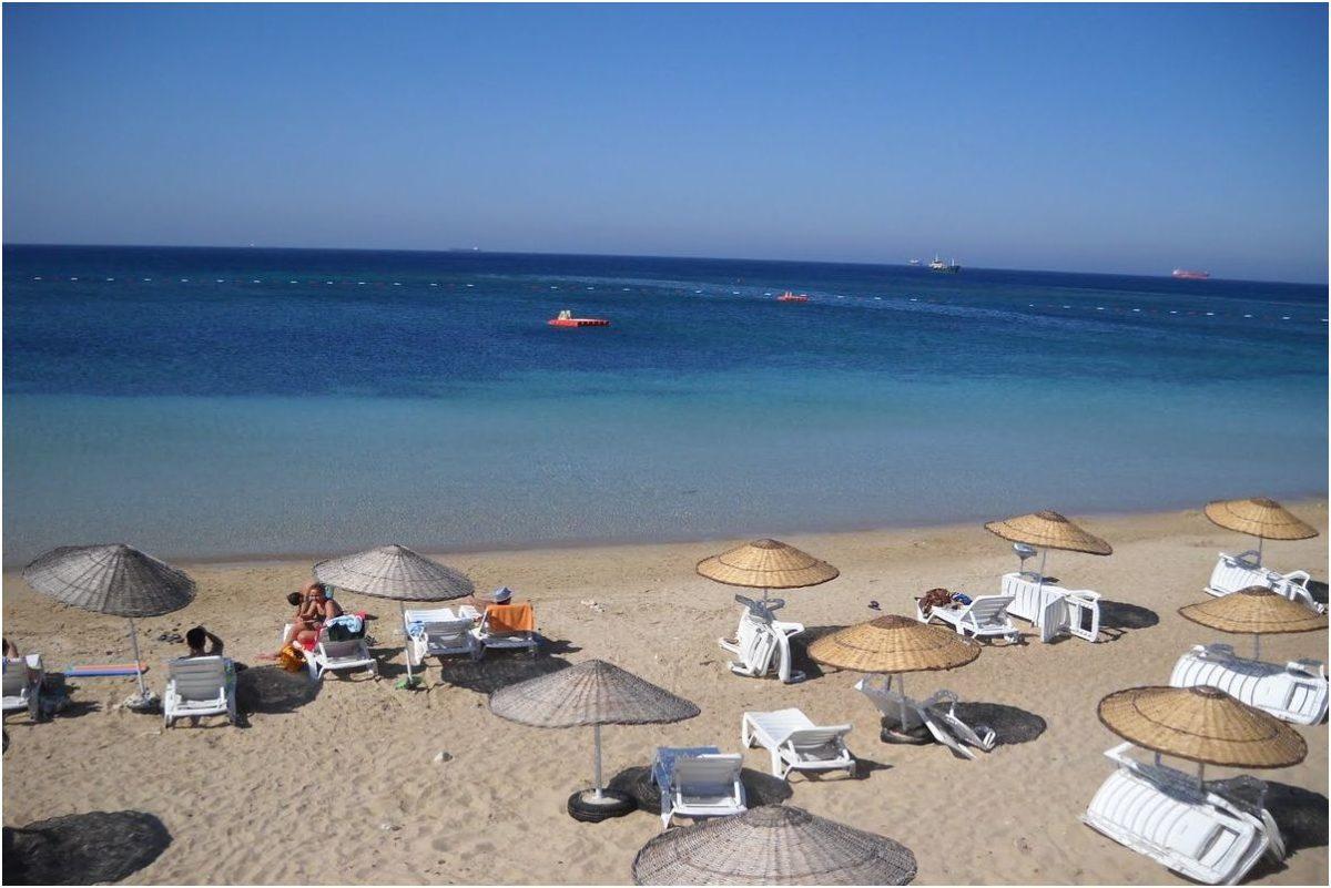La plage de Ayazma, voyage turquie