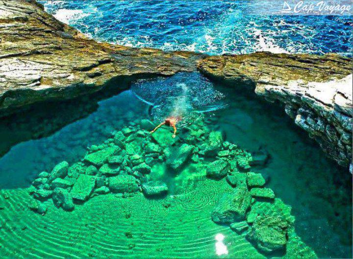 Lagune-Giola,-Grece