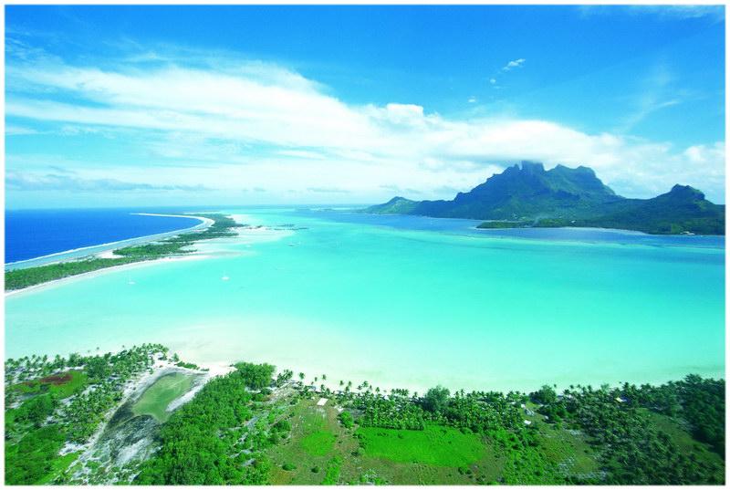 Le lagon de Bora-Bora,