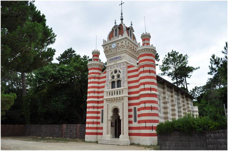 Lege-Cap-Ferret, Gironde, Aquitaine, France, la chapelle