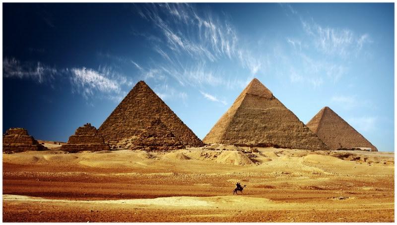 Les Pyramides égyptiennes