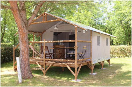 Les campings de Lege-cap-Ferret, AUX COULEURS DU FERRET