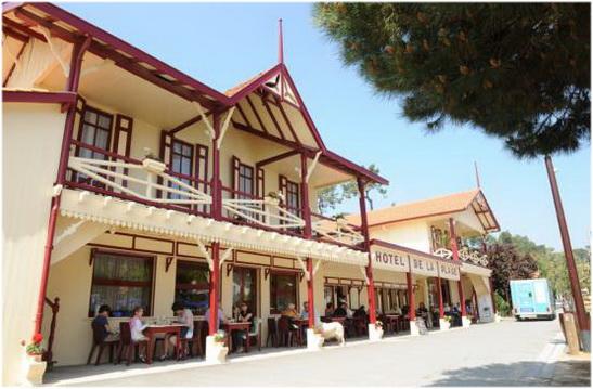 Les hotels de Lege-Cap-Ferret, France,hotel de la plage