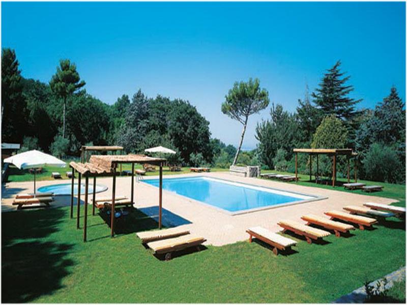 Park Hotel Villa Grazioli, Rome, Italie, Piscine
