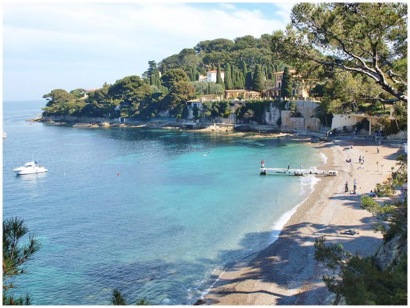 Plage de Paloma - Saint-Jean-Cap-Ferrat, Provence france