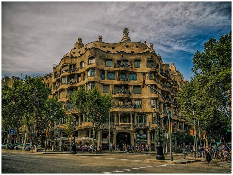 Casa Milà - Barcelone, Espagne