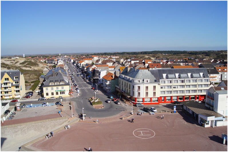 Fort mahon plage la somme picardie france cap voyage for Appart hotel fort mahon