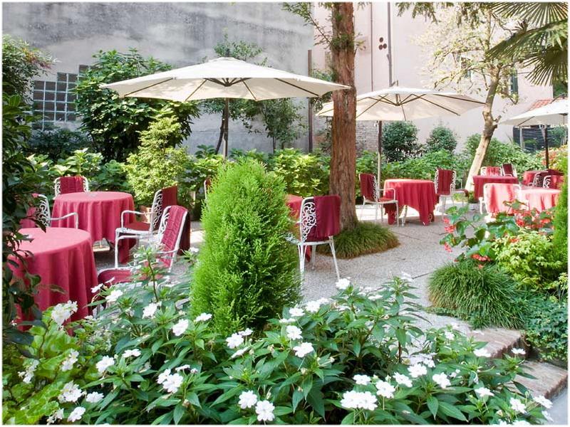 Hôtel Amadeus, Rome, Italie, Terrasse