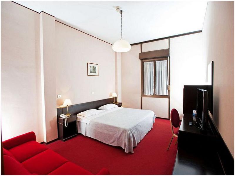 Hotel Albergo Mediterraneo, Palerme, Italie, Chambre
