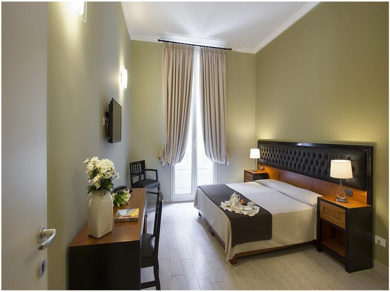 Hotel Ambasciatori, Palerme, Italie, Chambre