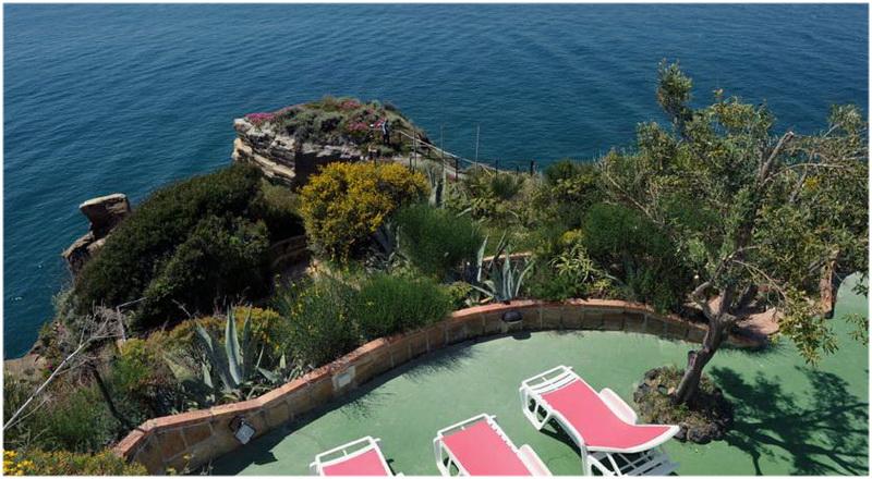 Hotel Cala Moresca, Naples, Italie, vue sur mer