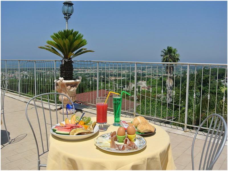 Hotel Casafort, Naples Italie, Terrasse