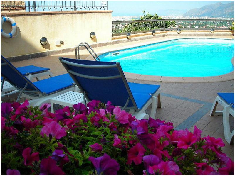 Hotel Guglielmo, Palerme, Italie, Piscine