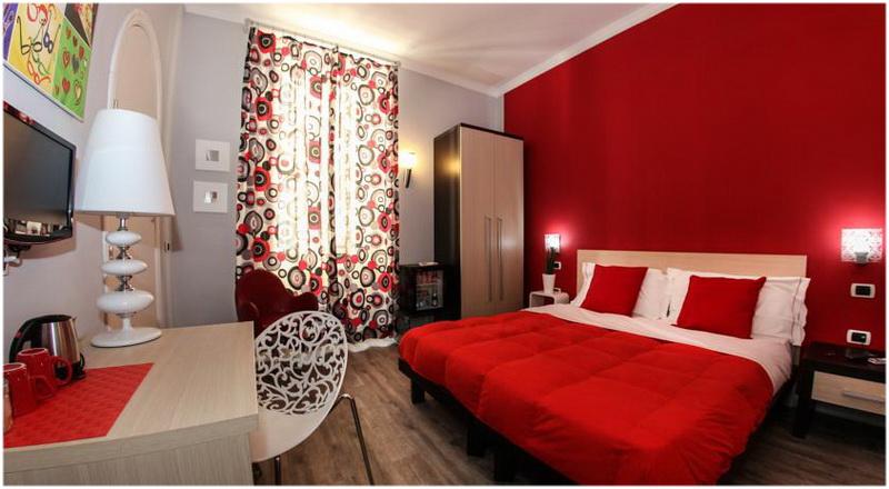 Hotel H Rooms Boutique, Naples, Italie, Chambre