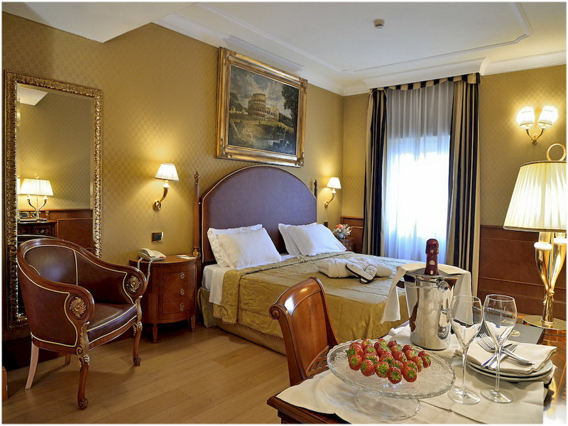 Hotel Homs, Rome, Italie, Chambre