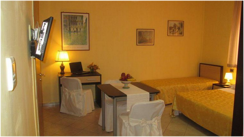 Hotel Résidence Partenopea, Naples, Italie, Chambre