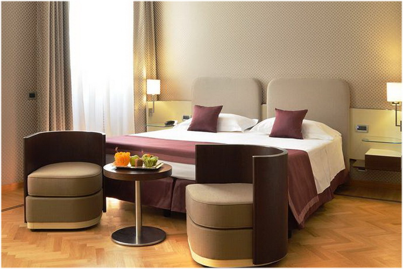 Hotel San Paolo, Naples, Italie, Chambre