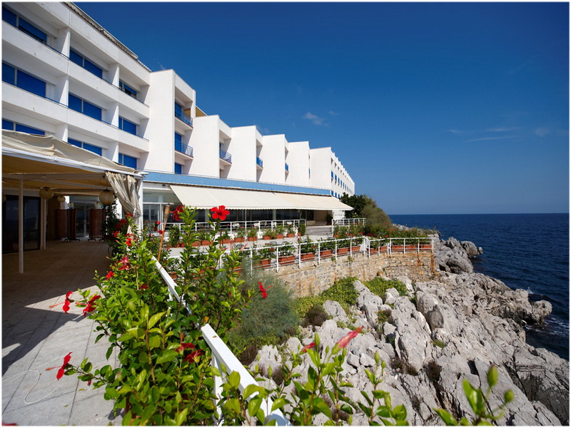 Hotel Splendid La Torre, Palerme, Italie, vue sur mer