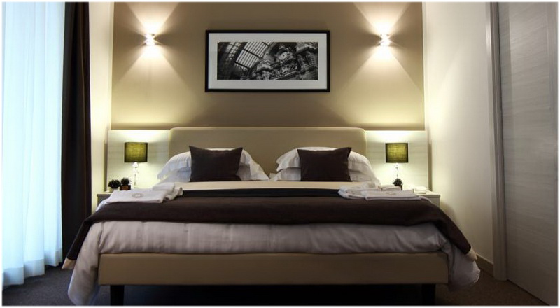Hotel Stelle, Naples, Italie, Chambre
