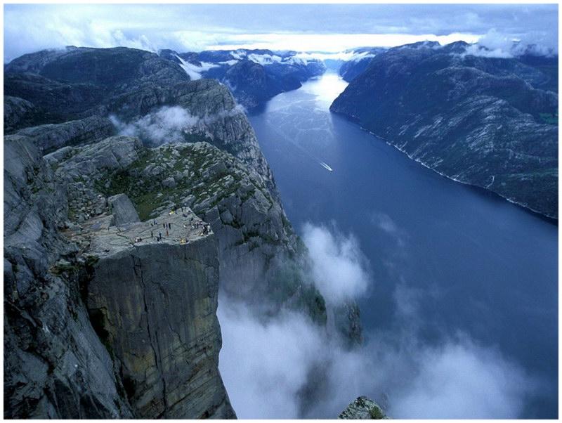 Preikestolen - Forsand, Ryfylke, Norvège