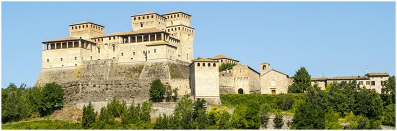 Émilie-Romagne, Italie, Château de Torrechiara