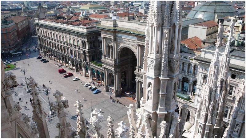 Molto Dome de Milan, Italie | Cap Voyage PU21