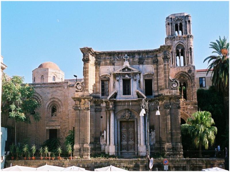 Eglise de San Cataldo, Palerme, Italie