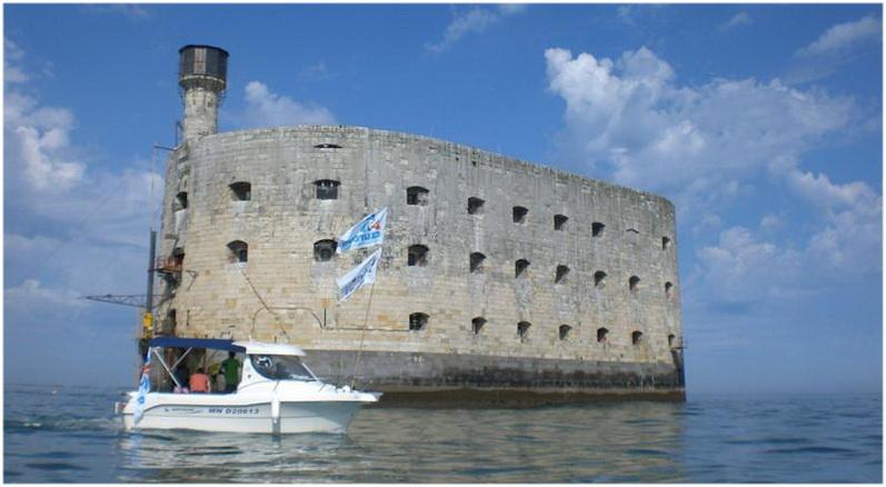 Fouras, Charente-Maritime, France, fort boyard