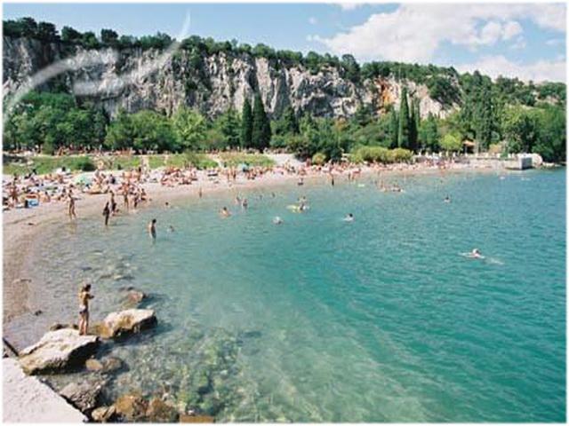 Frioul-Vénétie julienne, Italie, plage