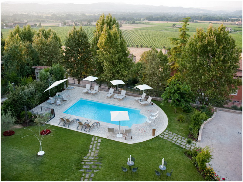 Hotel Al Grappolo d'Oro, Perouse, Italie, Piscine