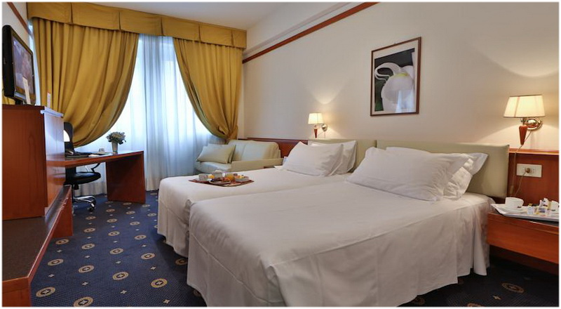 Hotel Best Western City, Bologne, Italie, Chambres