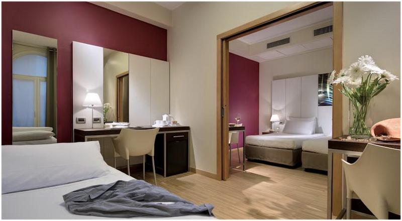 Hotel Bologna, Venise, Italie, Chambre