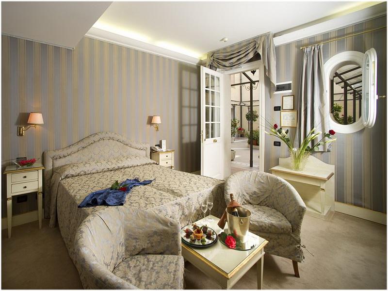Hotel Carlton, Venise, Italie, Chambre