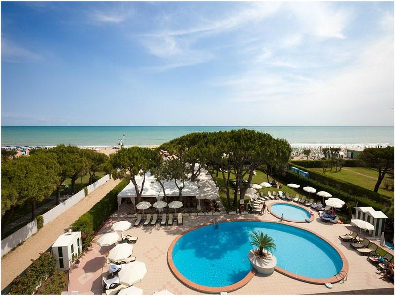 Hotel Elite Residence, Venise, Italie, Piscine