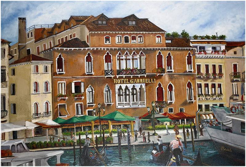 Hotel Gabrielli, Venise, Italie
