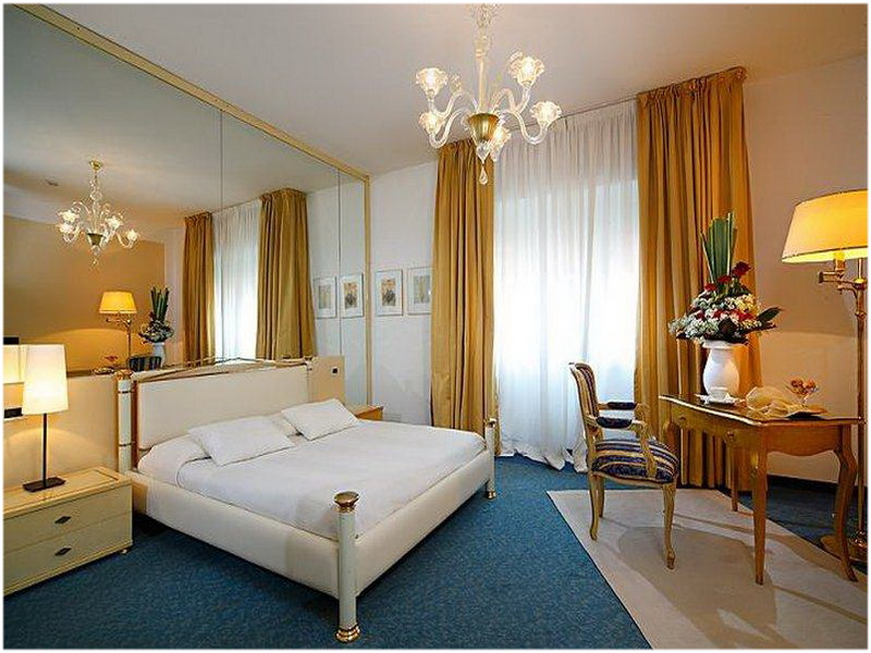 Hotel La Meridiana, Aoste, Italie, Chambres