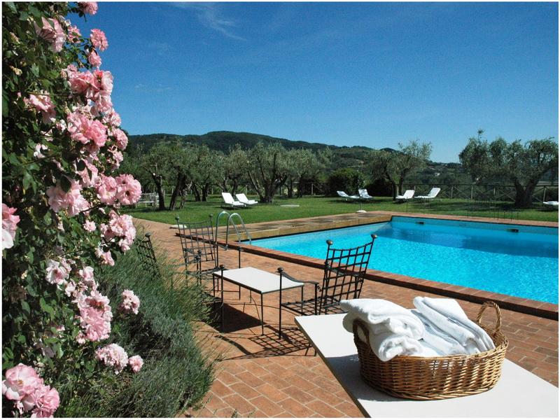 Hotel Le Tre Vaselle, Perouse, Italie, Piscine