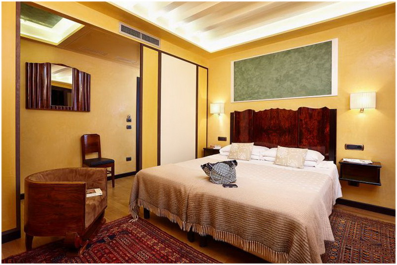 Hotel Saturnia & International, Venise, Italie, Chambre