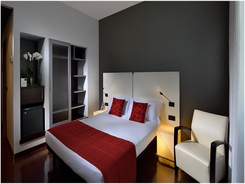 Hotel Savhotel, Bologne, Italie, Chambres