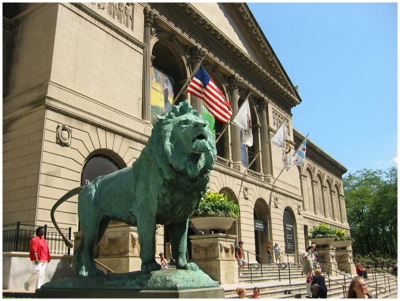 L'Institut d'art de Chicago (Etats-Unis)