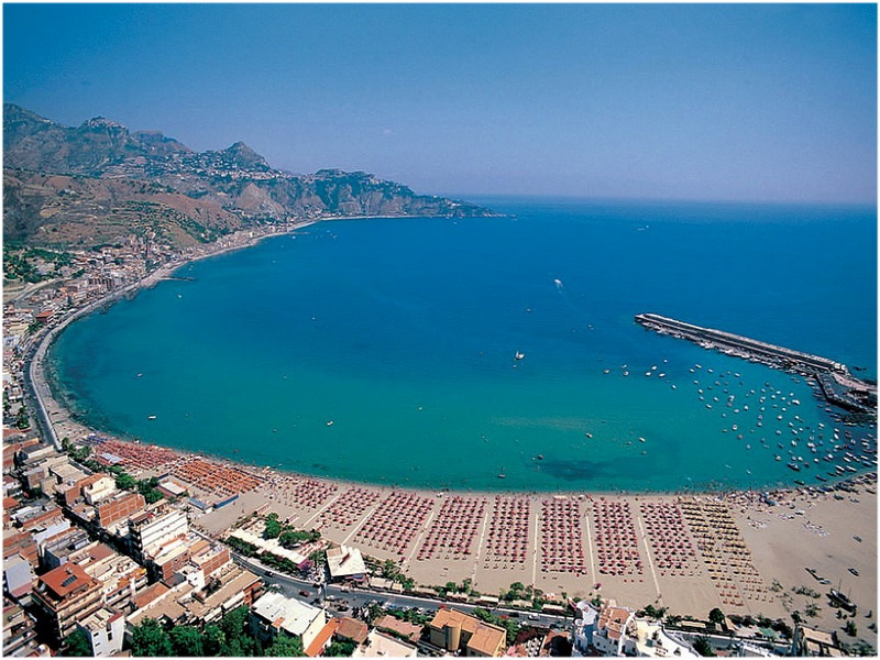 La PLus Grande Ile, Sicile, Italie, Bord de Mer